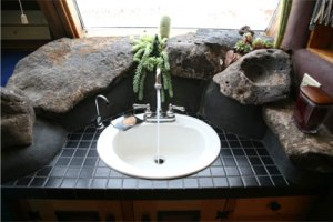 Earthships contain use and reuse all household sewage